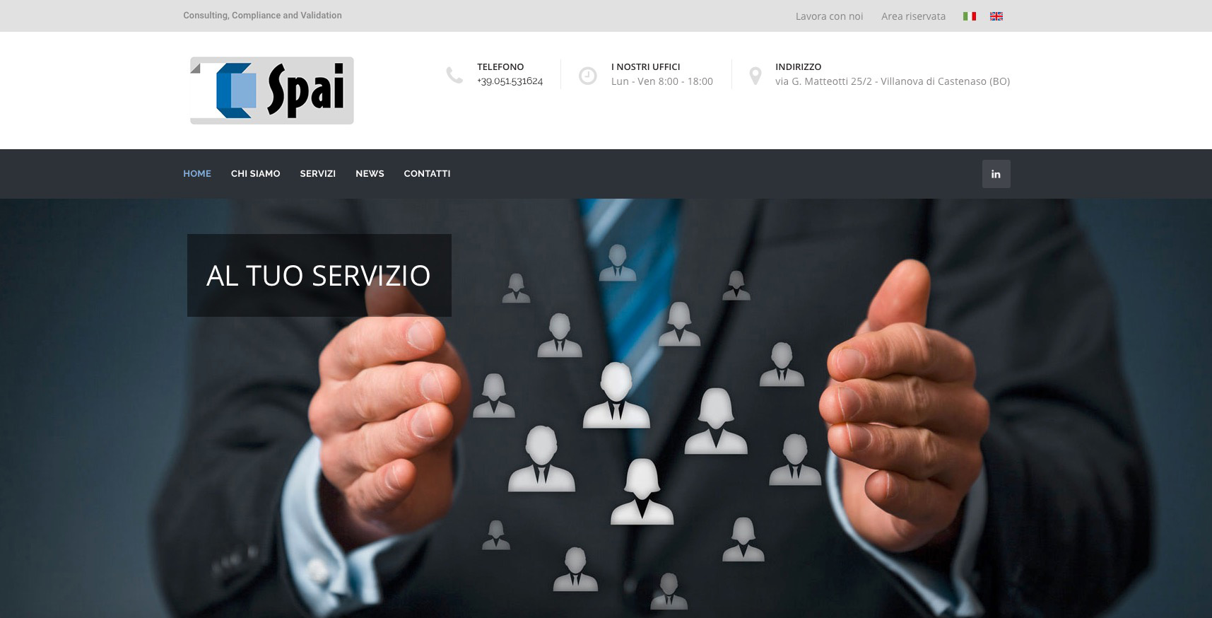SPAI, new website and new services