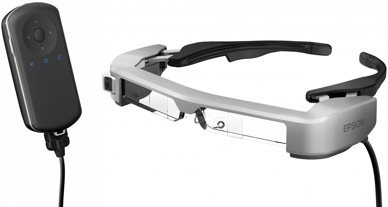 Smart glasses Epson Moverio